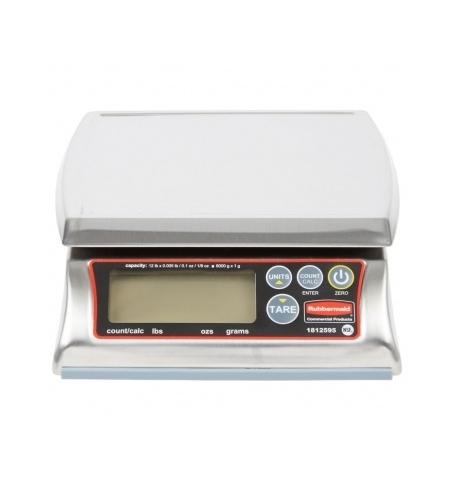 фото: Весы фасовочные Rubbermaid Premium 6кг дискретность 1г, 20.4x17.5см, 1814572