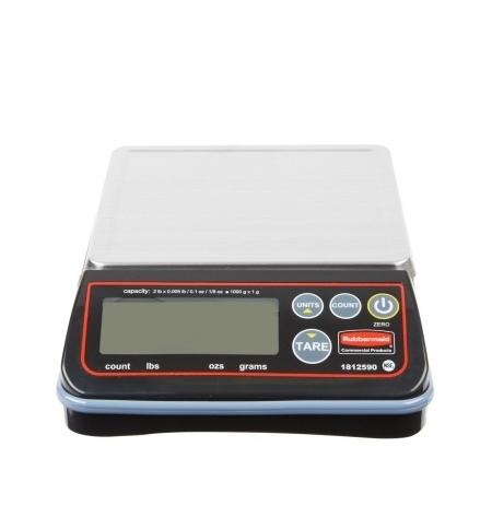 фото: Весы фасовочные Rubbermaid High Performance 6кг дискретность 1г, 14.6x16.5см, 1814570