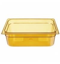 Поддон для горячих продуктов Rubbermaid GN1/2 6л янтарный, FG224P00AMBR