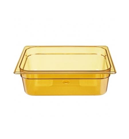 фото: Поддон для горячих продуктов Rubbermaid GN1/2 6л янтарный, FG224P00AMBR