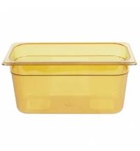 Поддон для горячих продуктов Rubbermaid GN1/3 5.1л янтарный, FG218P00AMBR