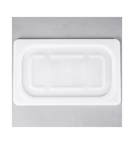 фото: Крышка для поддона для холодных продуктов Rubbermaid GN1/4 белая мягкая, FG144P00WHT
