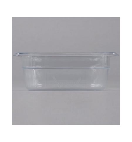 фото: Поддон для холодных продуктов Rubbermaid GN1/6 1.1л прозрачный, FG104P00CLR