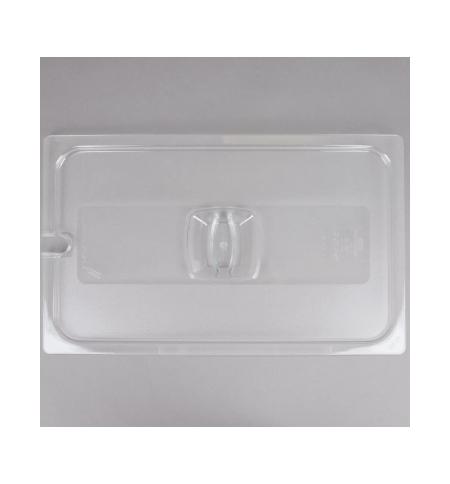 фото: Крышка для поддона для холодных продуктов Rubbermaid GN1/1 прозрачная с пазом, FG134P86CLR