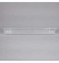 фото: Поддон для холодных продуктов Rubbermaid GN1/1 8.5л прозрачный, FG130P00CLR