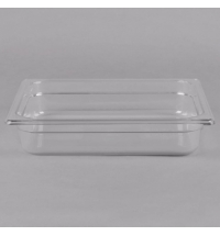 Поддон для холодных продуктов Rubbermaid GN1/2 3.8л прозрачный, FG123P00CLR