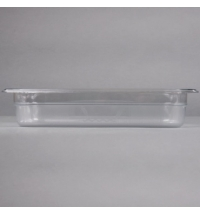 фото: Поддон для холодных продуктов Rubbermaid GN1/3 2.5л прозрачный, FG116P00CLR