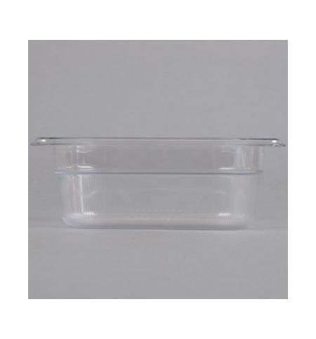 фото: Поддон для холодных продуктов Rubbermaid GN1/9 0.6л прозрачный, FG100P00CLR