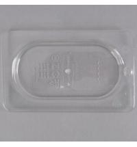 Крышка для поддона для холодных продуктов Rubbermaid GN1/9 прозрачная с отверстием для подвешивания, FG102P23CLR