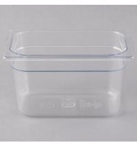 фото: Поддон для холодных продуктов Rubbermaid GN1/4 3.8л прозрачный, FG112P00CLR