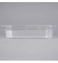 фото: Поддон для холодных продуктов Rubbermaid GN1/4 1.6л прозрачный, FG110P00CLR