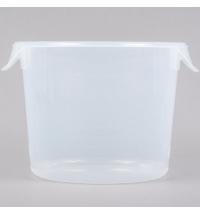 Контейнер для продуктов Rubbermaid 5.7л прозрачный, круглый, FG572324CLR