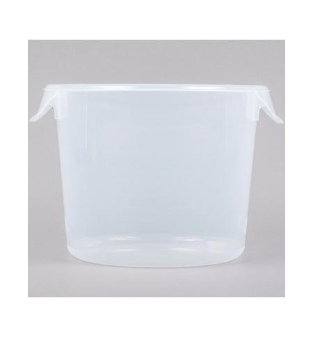 фото: Контейнер для продуктов Rubbermaid 5.7л прозрачный, круглый, FG572324CLR