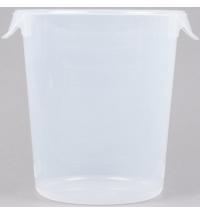 Контейнер для продуктов Rubbermaid 7.6л прозрачный, круглый, FG572424CLR
