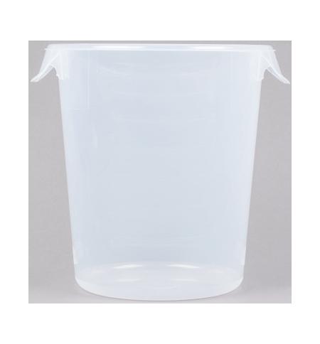фото: Контейнер для продуктов Rubbermaid 7.6л прозрачный, круглый, FG572424CLR