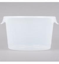 Контейнер для продуктов Rubbermaid 11.4л прозрачный, круглый, FG572624CLR