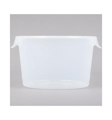 фото: Контейнер для продуктов Rubbermaid 11.4л прозрачный, круглый, FG572624CLR