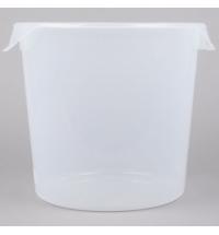 Контейнер для продуктов Rubbermaid 17л прозрачный, круглый, FG572724CLR