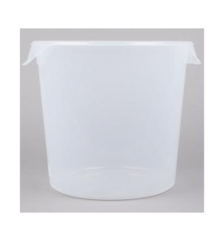 фото: Контейнер для продуктов Rubbermaid 17л прозрачный, круглый, FG572724CLR