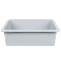 Ящик для хранения Rubbermaid 28.9л серый, FG335100GRAY