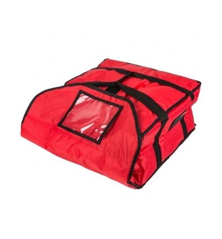 фото: Термо-сумка Rubbermaid средняя для доставки пиццы, красная, FG9F3600RED