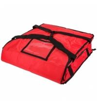 Термо-сумка Rubbermaid малая для доставки пиццы, красная, FG9F3500RED