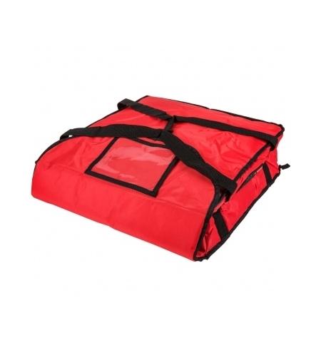 фото: Термо-сумка Rubbermaid малая для доставки пиццы, красная, FG9F3500RED
