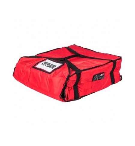 фото: Термо-сумка Rubbermaid средняя для доставки пиццы, красная, FG9F3700RED
