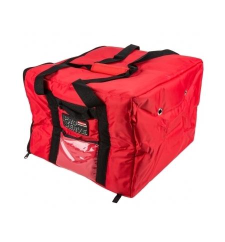 фото: Термо-сумка Rubbermaid большая для доставки пиццы, красная, FG9F3800RED