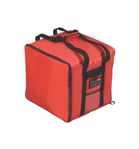 фото: Термо-сумка Rubbermaid большая для доставки пиццы, красная, FG9F3900RED