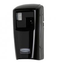 фото: Диспенсер для освежителя воздуха Rubbermaid Microburst 3000 черный 75мл, с ЖК-дисплеем, 1817130, +освежитель