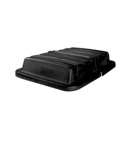 фото: Крышка для тележки Rubbermaid черная для 4608, FG460900BLA