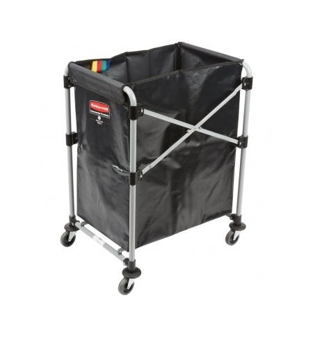 фото: Рама тележки Rubbermaid X-Cart 150л, для белья, 1871643