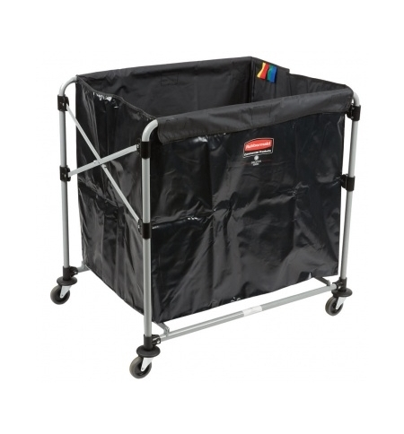 фото: Рама тележки Rubbermaid X-Cart 300л для белья, 1871644