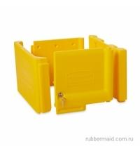 фото: Дверца для уборочной тележки Rubbermaid желтая FG618100YEL