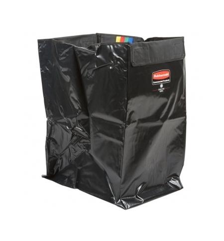 фото: Мешок для уборочных тележек Rubbermaid 150л черный, 1871645