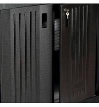 Дверца для уборочной тележки Rubbermaid черная 2шт, FG619700BLA