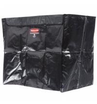 Мешок для уборочных тележек Rubbermaid 300л черный, 1871646