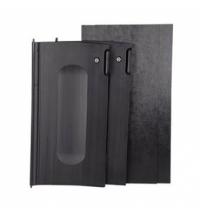 Дверца для уборочной тележки Rubbermaid черная для 9T72/9T74/9T75, 2шт, FG9T8500BLA