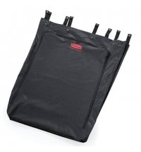 Мешок для уборочных тележек Rubbermaid 600л черный, FG635000BLA