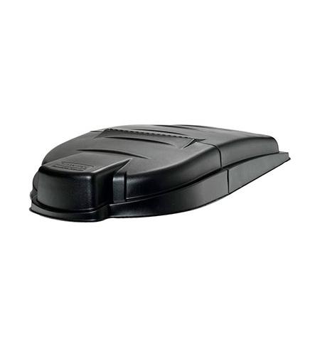 фото: Крышка для контейнера Rubbermaid MegaBRUTE 450л черная, FG9W7200BLA