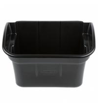 фото: Навесной бак для мусора Rubbermaid 15.1л для тележек X-Tra, черный, FG335488BLA