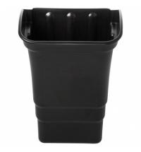 фото: Навесной бак для мусора Rubbermaid 30.3л для тележек X-Tra, черный, FG335388BLA