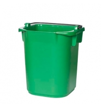 Ведро Rubbermaid 5л зеленое, R050770