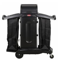 Комплексная тележка Rubbermaid гостиничная повышенной безопасности, FG9T7800BLA