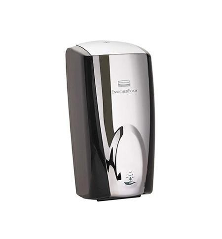 фото: Диспенсер для мыла в картриджах Rubbermaid AutoFoam FG750411 черный/металлик, 1.1л