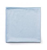 фото: Салфетка хозяйственная Rubbermaid Hygen для стекол 40.6х40.6см, микрофибра, голубая, FGQ63000BL00