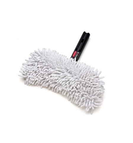 фото: Насадка для швабры моп Rubbermaid Hygen Flexi Frame 29х12см для сухой уборки, микрофибра/полиэстер, FGQ86100WH00