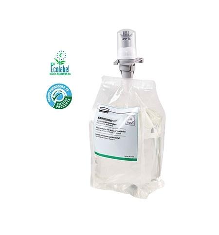 фото: Пенное мыло в картридже Rubbermaid Flex EnrichedFoam 3486617 1.3л, для рук, антибактериальное, стандарт EN 1499