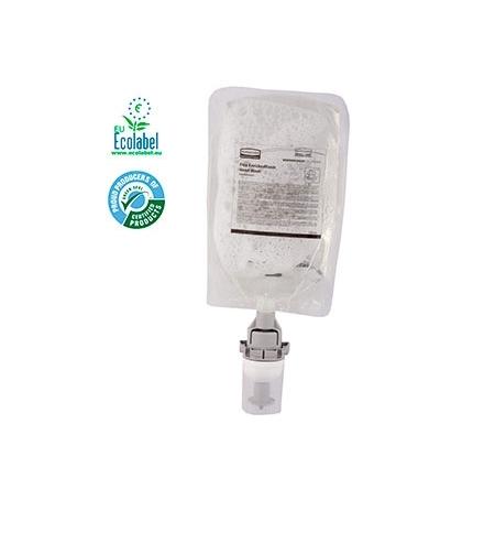 фото: Пенное мыло в картридже Rubbermaid Flex EnrichedFoam 3486607 500мл, для рук, антибактериальное, стандарт EN 1499